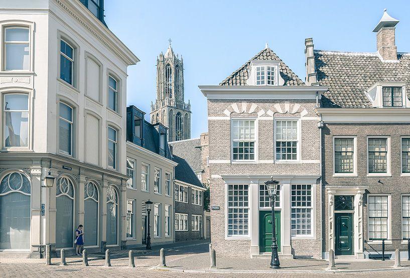 Achter de Dom (Domtoren, Utrecht) van Alessia Peviani