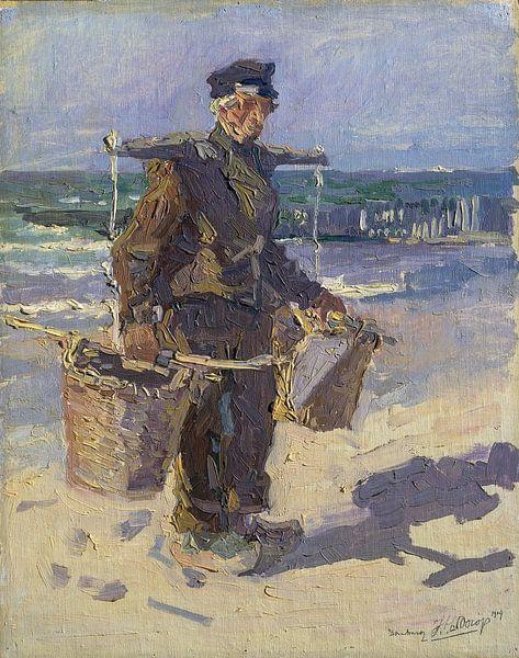 De schelpenvisser, Jan Toorop van Schilders Gilde