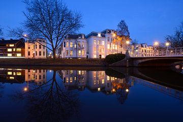 Maliesingel in Utrecht bij Herenbrug sur Donker Utrecht