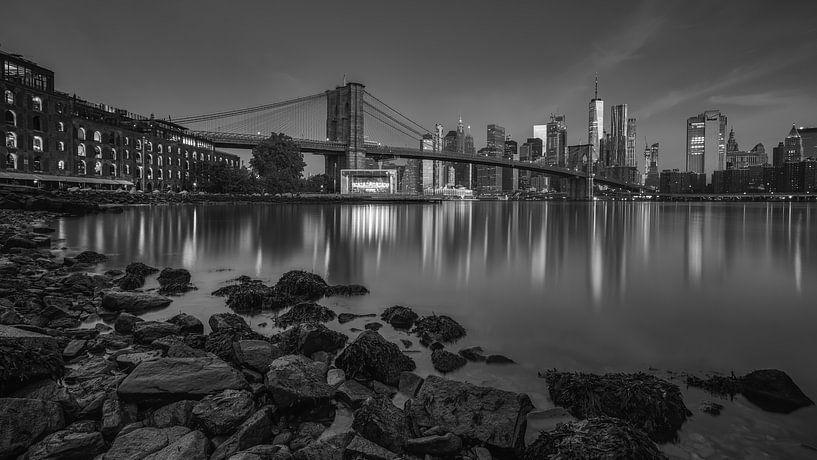 Le ciel de New York sur Reinier Snijders