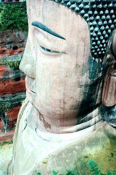 Grote Boeddha gezien van boven von André van Bel