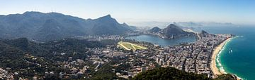Rio de Janeiro panorama van Merijn Geurts