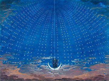 Die Zauberflöte von Wolfgang Amadeus Mozart, Karl Friedrich Schinkel