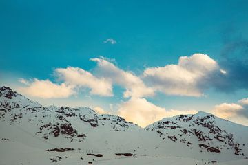 """Bergen in Frankrijk """"Val Thorens"""" van Charles Poorter"""