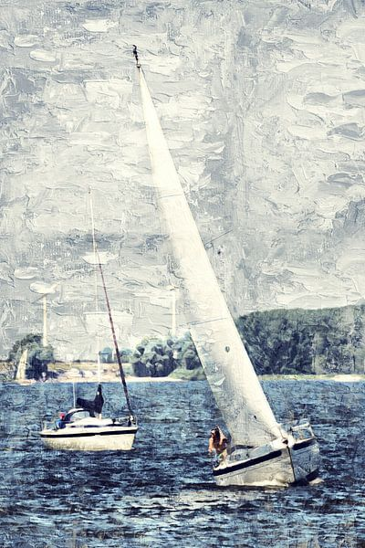 Sail away van Art by Jeronimo
