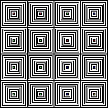Nested | Center | 04x04 | N=08 | Random #02 | RGBY van Gerhard Haberern