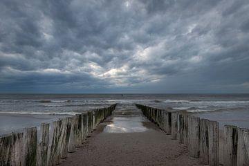 Strandpalen van Gerben van Buiten