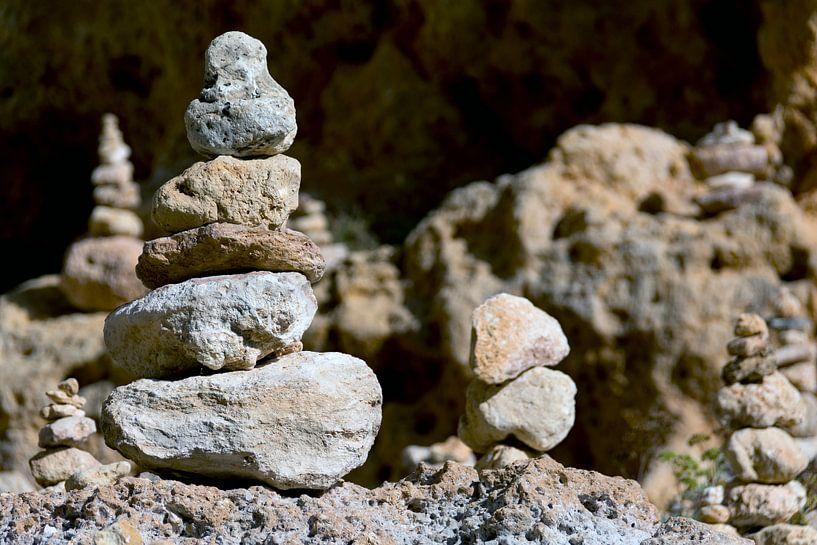 Zen stenen van Ton de Koning