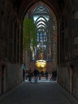 hondekop op het Domplein von Robin Pics (verliefd op Utrecht)