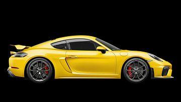 Porsche 718 Cayman GT4 von Gert Hilbink