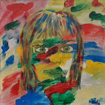 Happy Girl von Jose Beumers