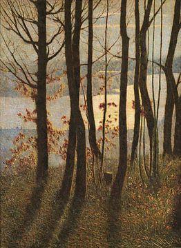 Vittore Grubicy das Drachen-Winter-Gedicht