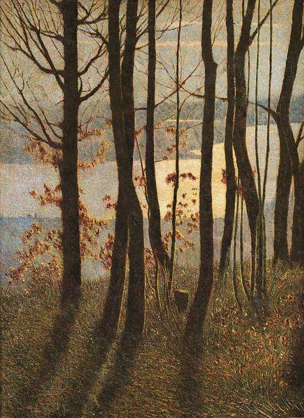 Vittore Grubicy das Drachen-Winter-Gedicht von finemasterpiece