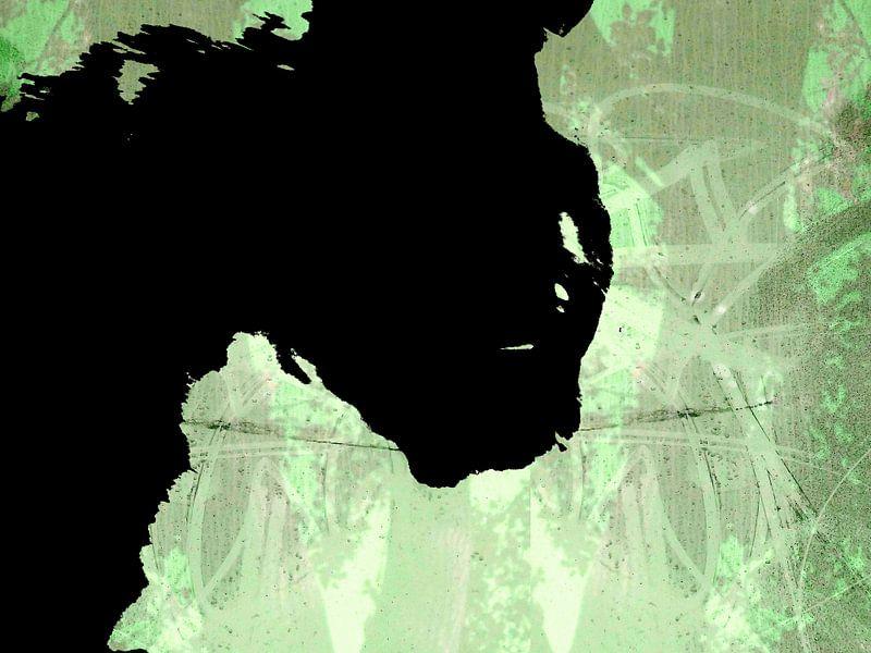 Kattenkunst - Storm 4 van MoArt (Maurice Heuts)