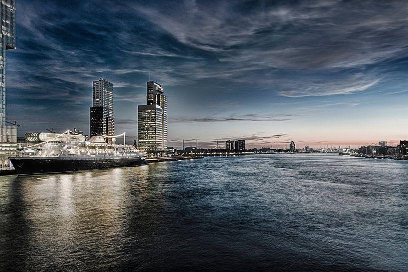 Rotterdam Skyline in HDR van Brian Morgan