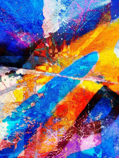 Modern, Abstract kunstwerk - Your Eyes Tell Me More van Art By Dominic