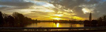 Sonnenuntergang auf dem Weg von Jeroen Schellevis