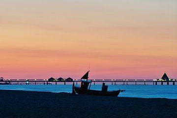Abend an der Ostsee von Martina Fornal