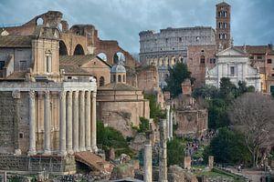 Forum Romanum in Rome van Joachim G. Pinkawa