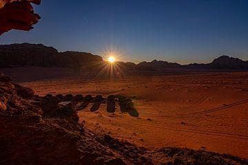 Wadi Rum dessert camp van Mark Lenoire