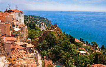 Monaco zeezicht. von Brian Morgan
