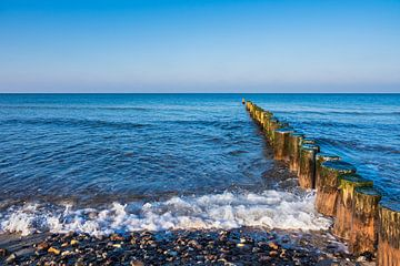 Baltic Sea coast in Graal Mueritz, Germany van Rico Ködder