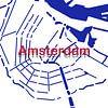 Amsterdamer Grachten von Patrick Herzberg Miniaturansicht
