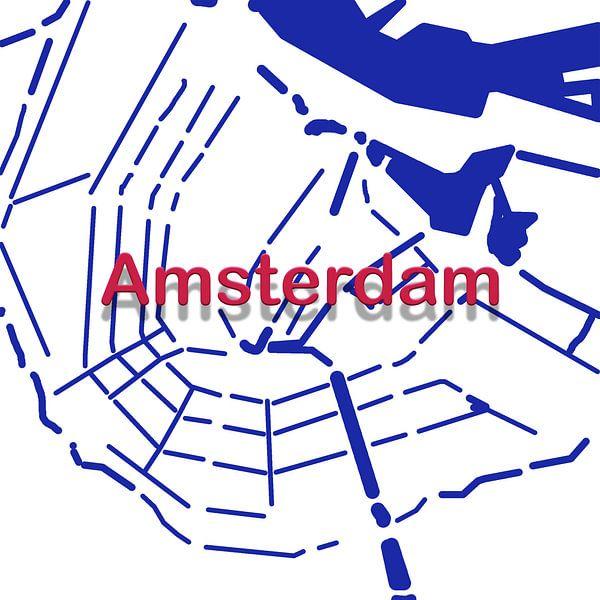 Amsterdamer Grachten von Patrick Herzberg