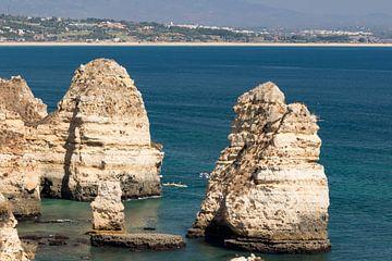 Algarve Ponta da Piedade prachtige kustlijn van Portugal van D Meijer