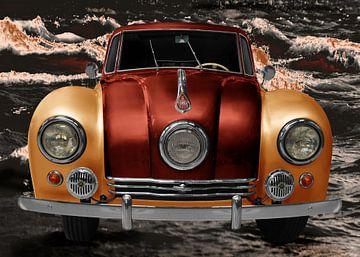 Tatra 87 in oranje & koper van aRi F. Huber