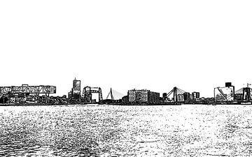 Rotterdam Skyline sur
