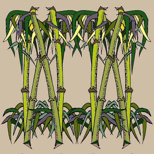 Bambou Stylisé sur