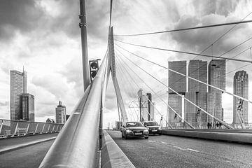 Erasmusbrug Rotterdam von Julienne van Kempen