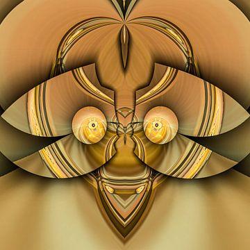 Phantasievolle abstrakte Twirl-Illustration 106/44 von PICTURES MAKE MOMENTS