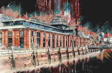 Hamburg Fischmarkt van