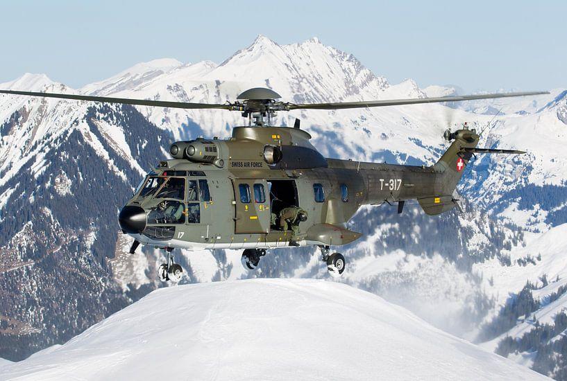 Zwitserse Luchtmacht AS532UL Cougar van Dirk Jan de Ridder