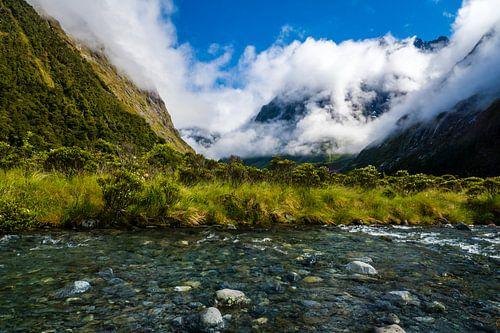 Nieuw Zeeland landschap van Jasper den Boer