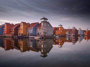 Reitdiephaven in Groningen van Youri Zwart