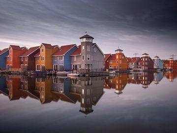 Reitdiep-Hafen in Groningen (Stadt) von Youri Zwart