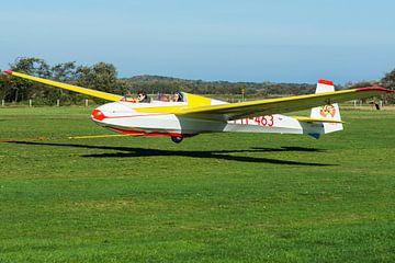 Open zweefvliegtuig ASK13 van Peter de Jong