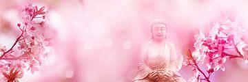 boeddha in japanse lente van Dörte Stiller