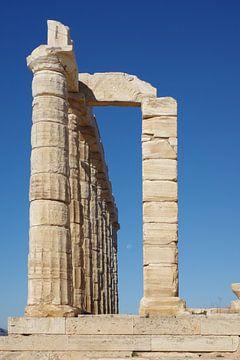 Griekenland: de tempel van Poseidon bij Kaap Sounion