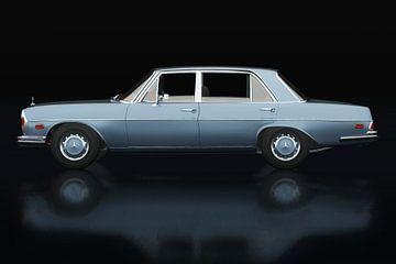 Mercedes 300 SEL Zijaanzicht