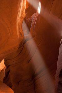 Antelope Canyon Lichtstralen van Eric - Zichtbaar.com