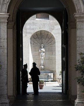 Doorkijkje in Rome van