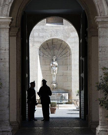 Doorkijkje in Rome