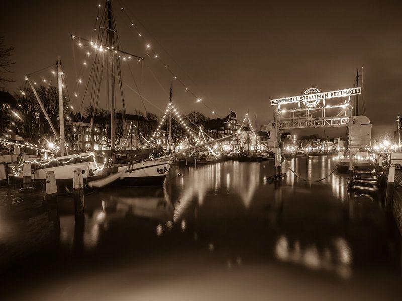 Dordrecht 8 Sephia van Nuance Beeld