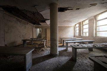 mortuarium in verval van Kristof Ven