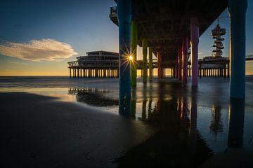Sonnenuntergang von Willem  Overkleeft