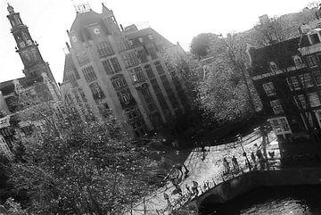 Amsterdam Keizersgracht von Marianna Pobedimova